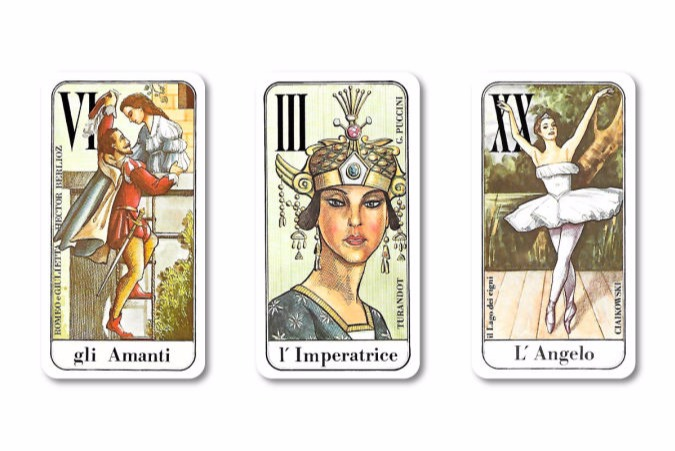 Music Tarot Major Arcana