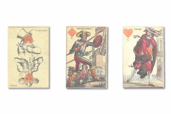 French Trasformation Cards
